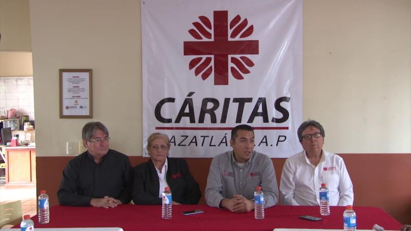 Cáritas apoyará a damnificados en Sinaloa y Nayarit