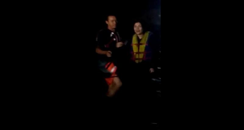 Los rescatan de morir ahogados