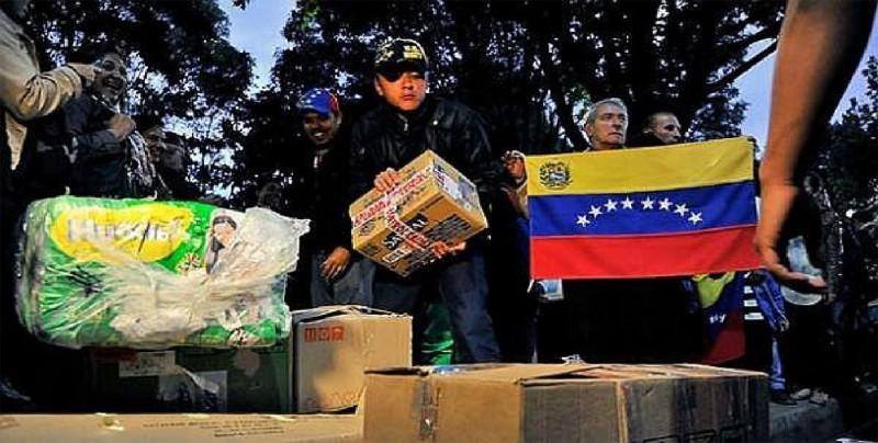 El primer avión con ayuda para Venezuela llega al norte de Brasil