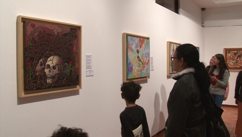 Exposición inspirada en poemas