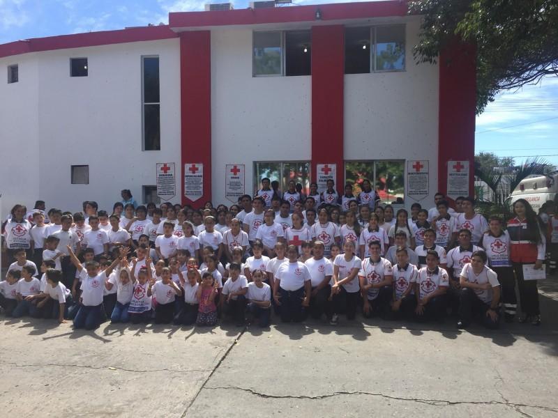 Cruz Roja Mazatlán celebra 109 aniversario de fundación en México