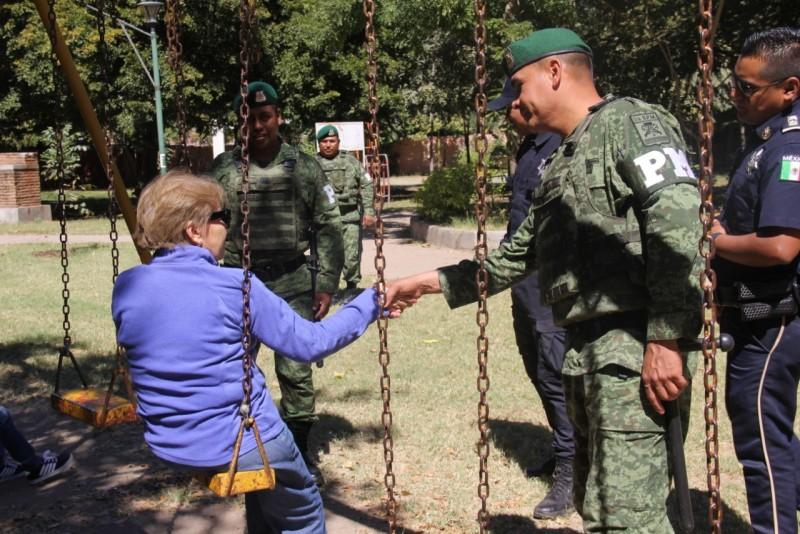 Recorre Policía Militar sectores de Culiacán