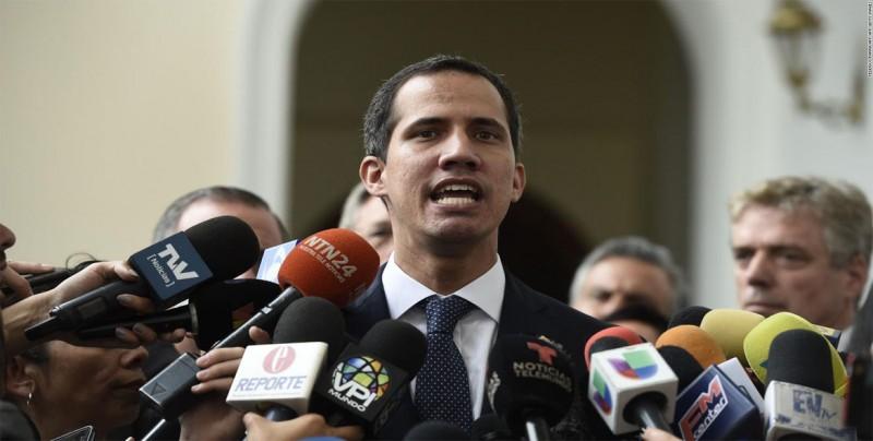 """Guaidó planteará a países """"todas las opciones"""" para liberar a Venezuela"""