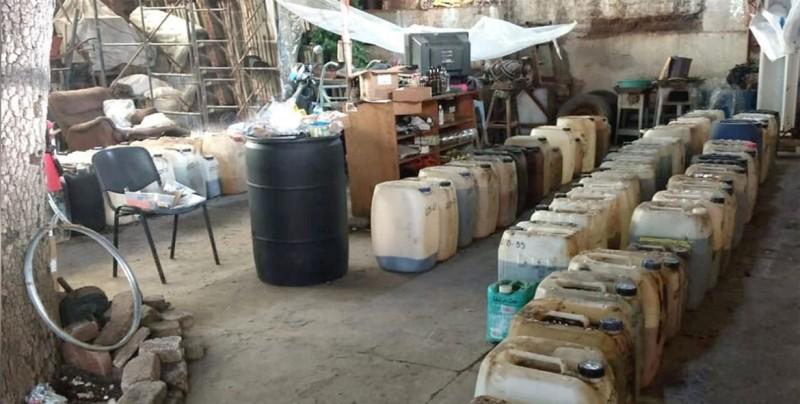 Policía destruye narcolaboratorio en la frontera de Guatemala y México