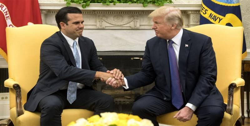 Rosselló pide a Trump reunirse para atender la lentitud en la ayuda a P.Rico