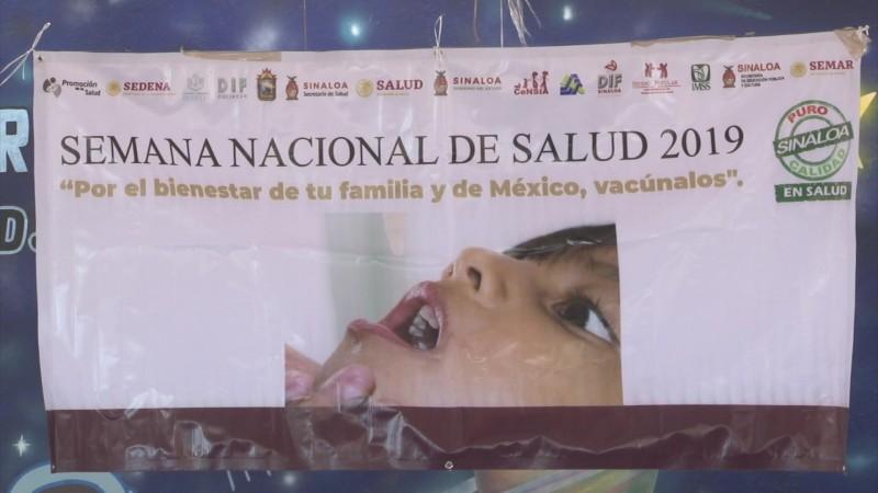 Arranca en Mazatlán la Semana de Nacional de Vacunación