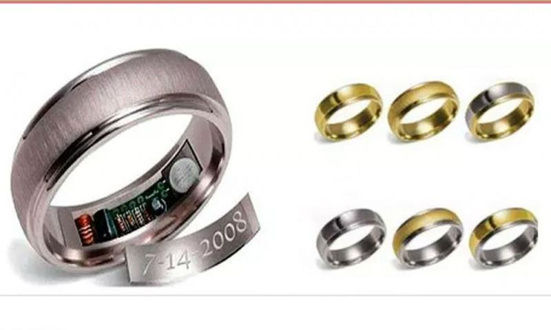 No pierdas de vista a tu pareja con estos anillos de boda con GPS
