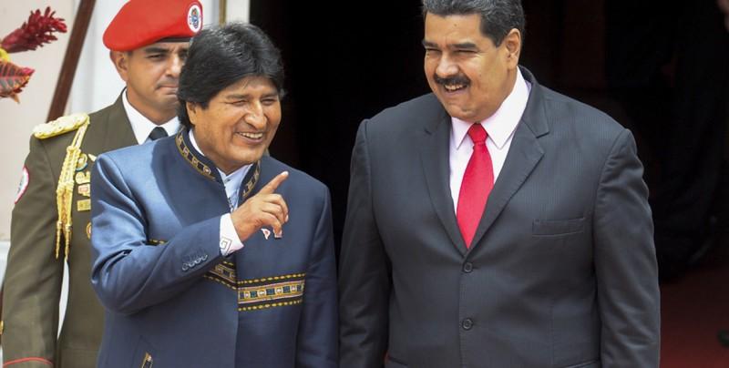 Un 82 % de los bolivianos rechaza el apoyo de Evo Morales a Maduro