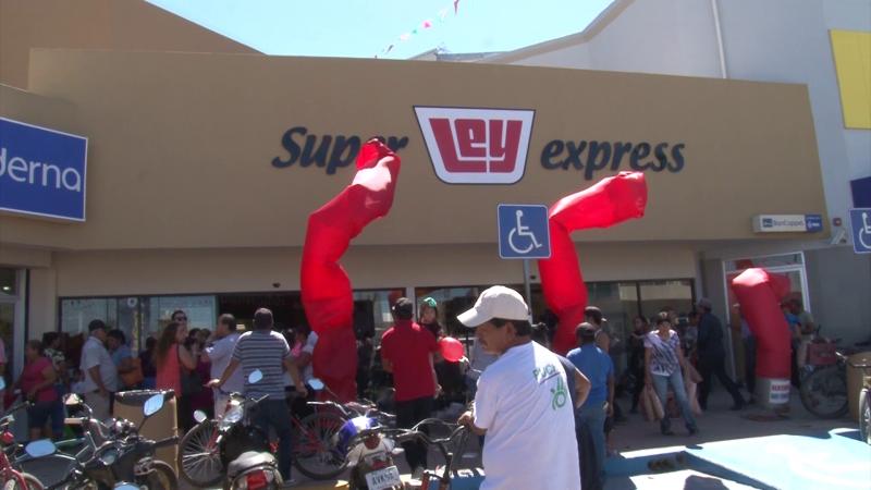 Inauguró nueva sucursal Super Ley Express en Villa Unión