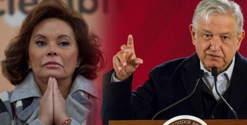 """López Obrador dice que polémica sindicalista tiene """"derecho"""" a hacer política"""