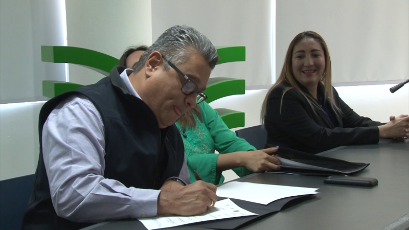 Firman convenio SESESP y Tec Milenio