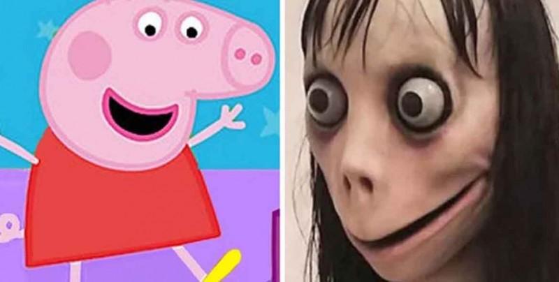 """Alertan de peligroso reto """"Momo"""" que aparece en videos de Peppa Pig"""