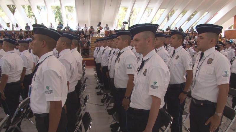 Egresan 171 cadetes del INECIPE