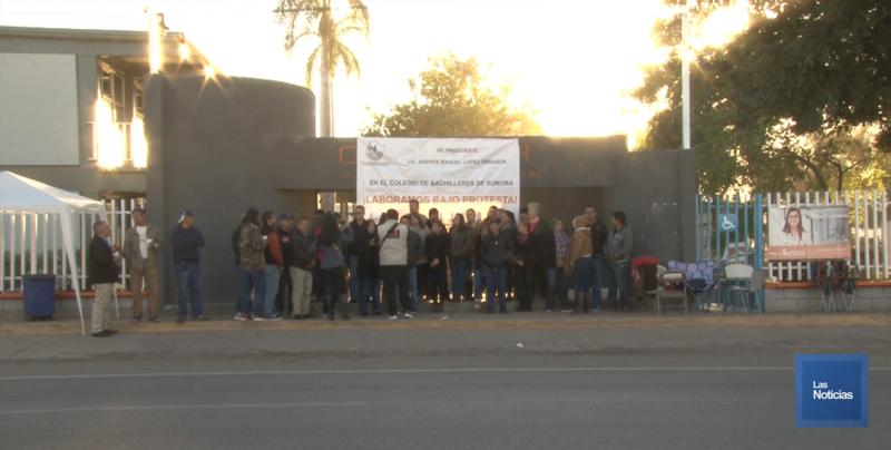 Paralizan clases en los COBACH de Sonora