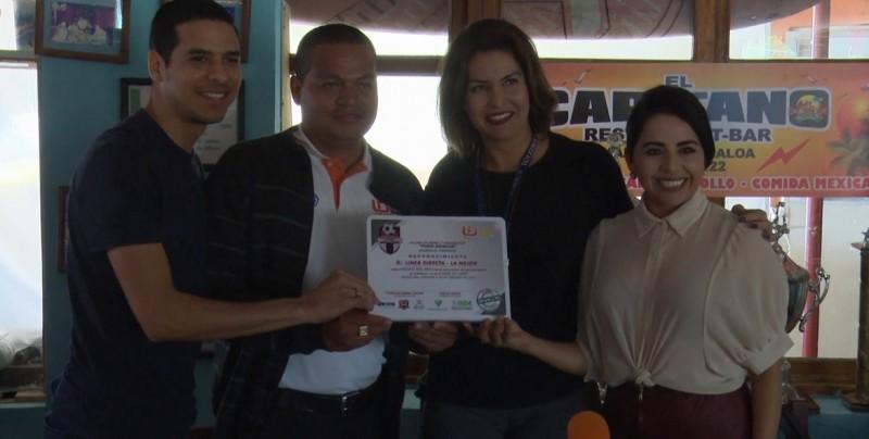 Linea Directa el equipo del mes en la Liga Periodistica
