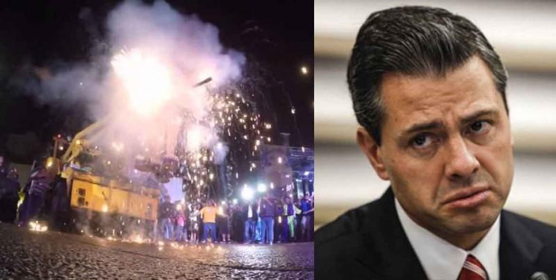 EPN será incinerado en la 'Quema del Mal Humor' en el Carnaval de Mazatlán