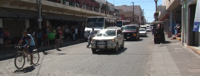 Calle Benito Juárez presenta problemas desde proyecto