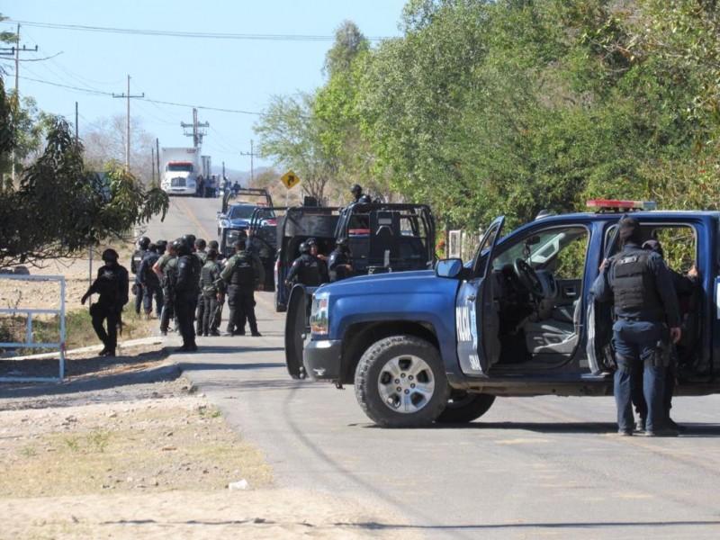 """Confirma SSP tres muertos en enfrentamiento en """"La Cofradía"""" Mazatlán"""