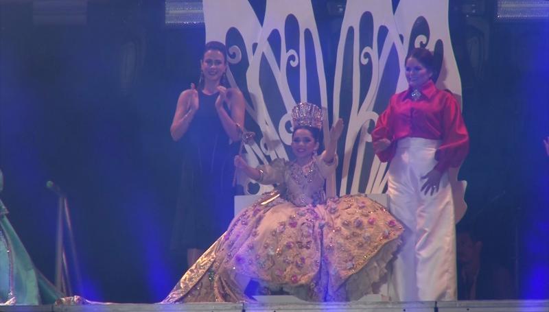 Dania I es coronada como Reina Infantil