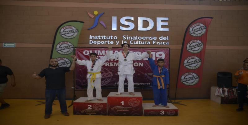 Surgen campeones infantiles en el Judo