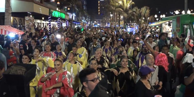 """Con """"Saldo Blanco"""" culmina el Carnaval Mazatlán 2019"""