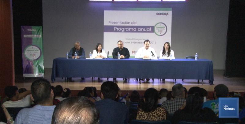 En Cajeme, presentan programas culturales para la entidad