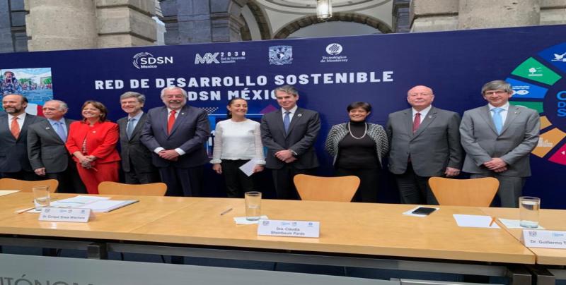 Se suma la UAS a la Red de Soluciones para el Desarrollo Sostenible (SDSN México)