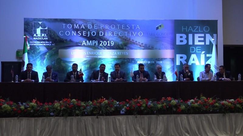 Se renueva la mesa directiva de AMPI en Mazatlán