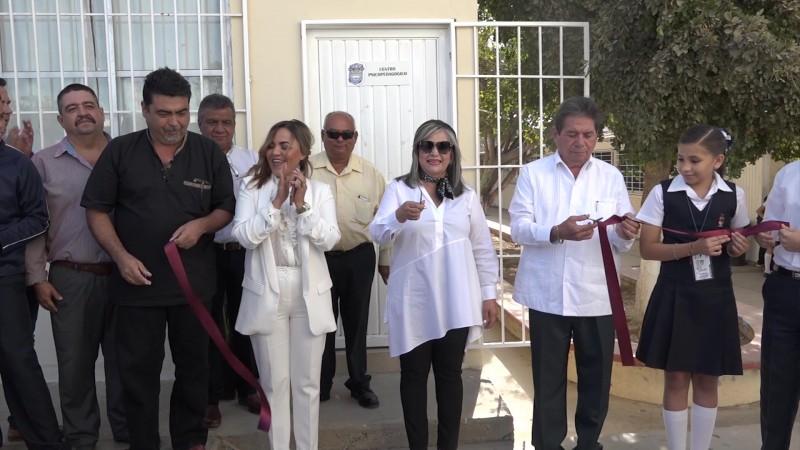 Inauguran aula de psicopedagogía en la secundaria Torres Bodet