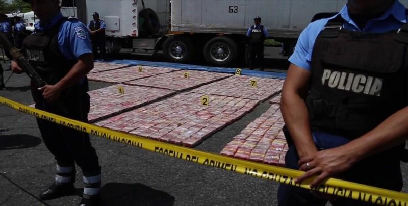 Policía de Nicaragua confisca 163,3 kilos de cocaína y 178.360 dólares