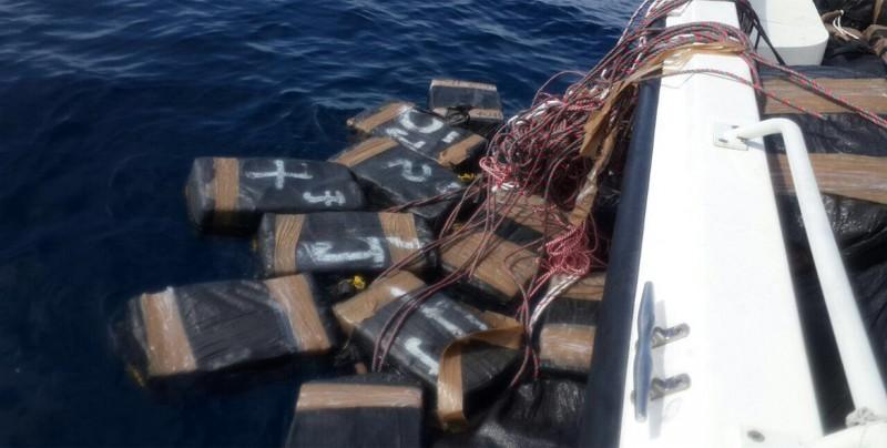 Decomisan en Brasil 1,7 toneladas de cocaína con destino a España