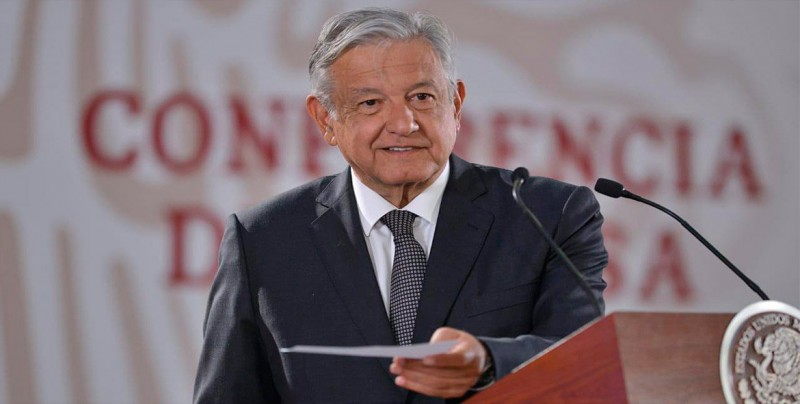 """López Obrador dice no tener """"problemas"""" con la prensa en 100 días de mandato"""