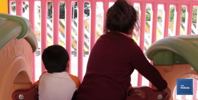 Llegó la primera familia en situación de migración al albergue Tin Otoch de Sonora