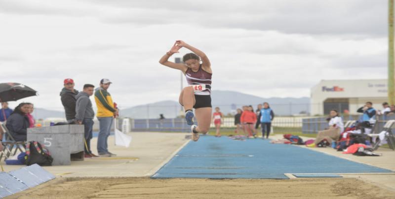 Sinaloa bien en Atletismo en la Olimpiada Regional 2019