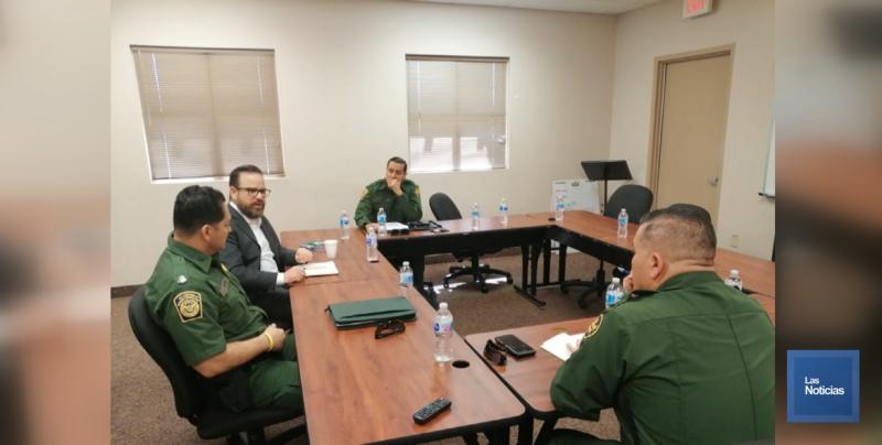 Dan seguimiento a temas de seguridad autoridades de Sonora-Arizona