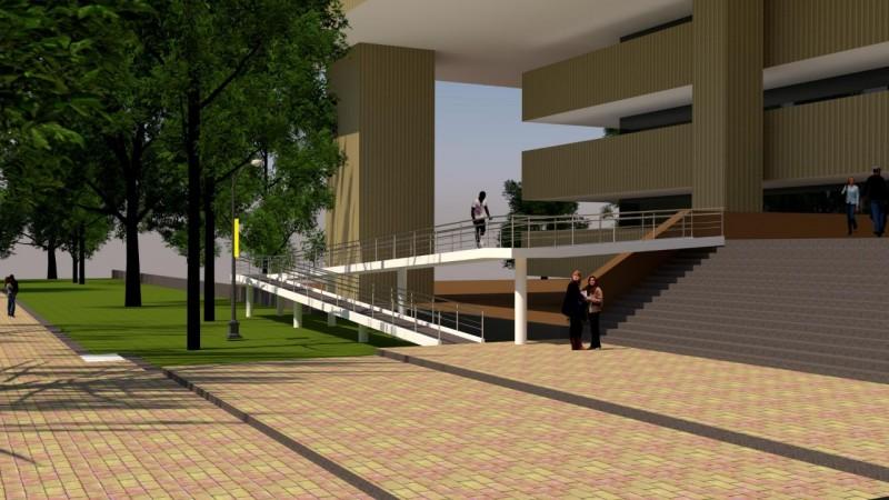 Tendrá Palacio de Gobierno rampas para discapacitados