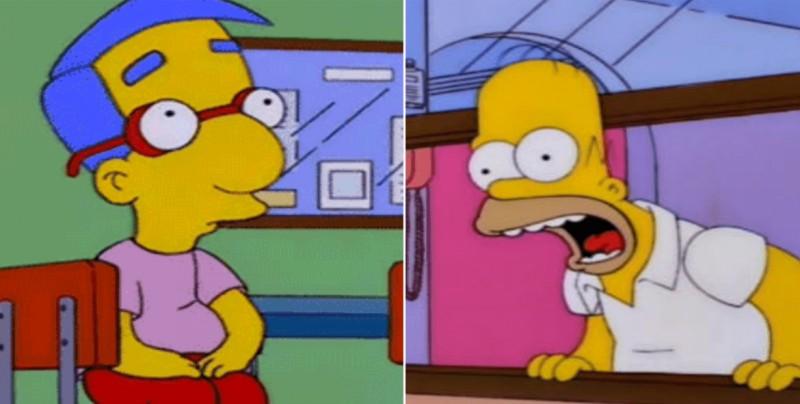 Millhouse Challenge: la escena de los Simpson que se hizo viral