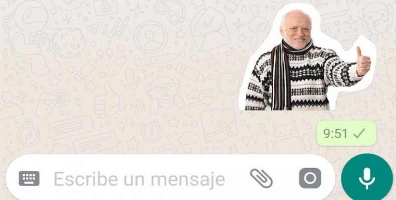 Así se hacen los stickers para Whatsapp