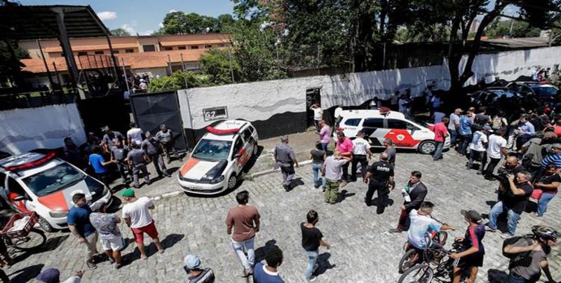 10 muertos deja tiroteo en escuela de Brasil