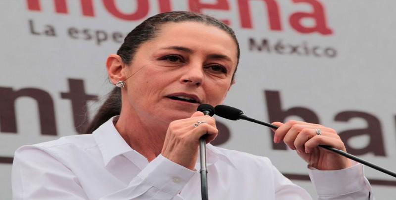 Alcaldesa de Ciudad de México recibe 63 % de aprobación a 100 días de mandato