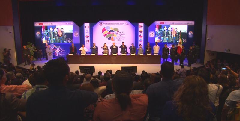 Inicia  el Segundo Congreso Internacional de Valores por la Paz de la UAS