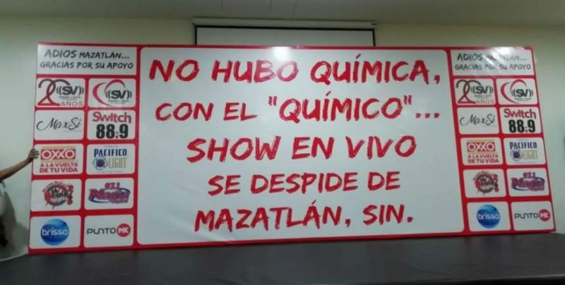 """""""El Químico es un mentiroso total"""" afirma Felipe Silva, luego de la cancelación del concierto de Pancho Barraza"""