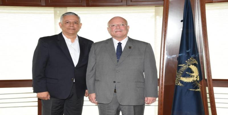 Se reúnen el Rector de la UAS y el Fiscal de Sinaloa