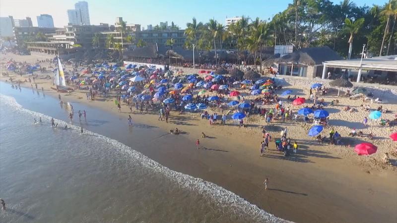 Limpias y seguras las playas de Sinaloa para Semana Santa