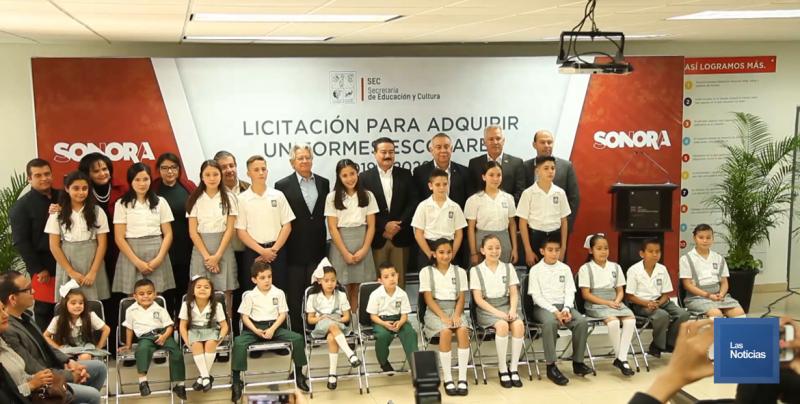 Publican bases para elaboración de uniformes escolares