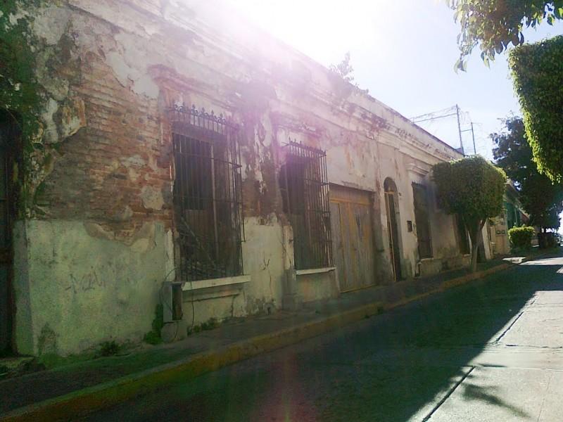 En ruinas el 15 por ciento de edificios en el Centro Histórico de Mazatlán