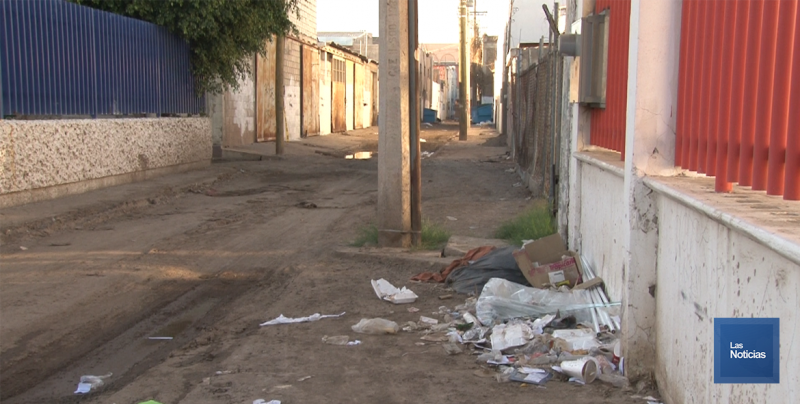 En Cajeme, Callejón de la Inclusión con problemas de basura