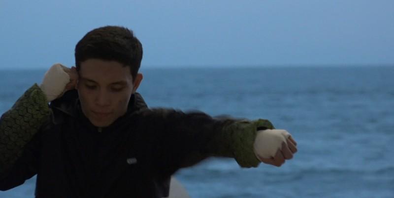 Marco Reyes se prepara para Olimpiada Nacional