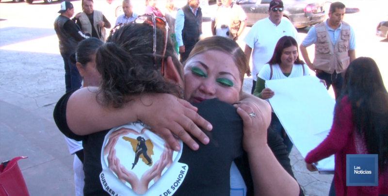 Arriban a Cajeme Buscadoras de Guaymas - Empalme