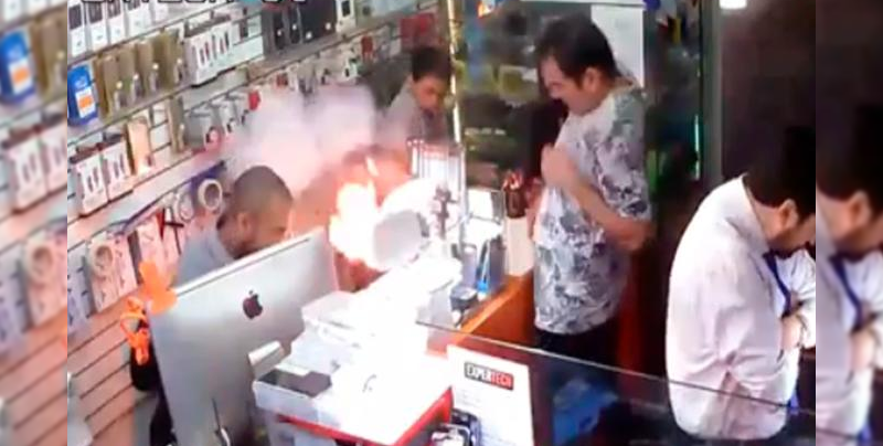 Explota iPhone 6 y provoca incendio por una batería alternativa